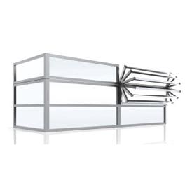 aluminium windscherm